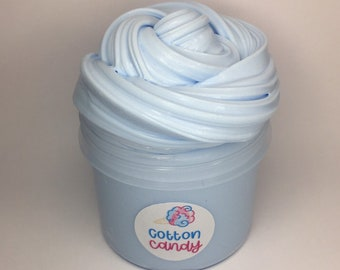 Cotton Candy Milk Slime 4oz, Thick & Glossy - in SCREWTOP container, UK