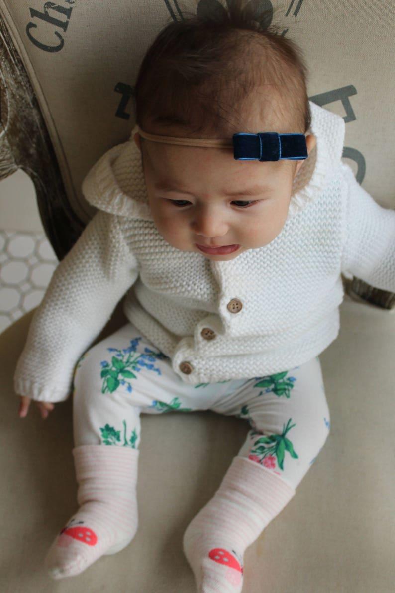 headbands Mila bow Baby girl headband baby bows bows