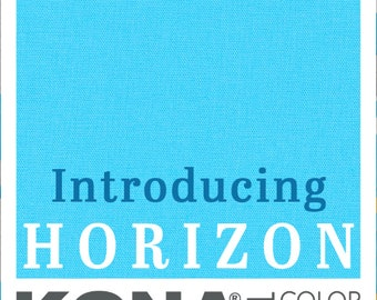 BTY Robert Kaufman Kona Cotton Solid Horizon Blue 2021 Color of the Year Cotton Fabric Yard K001-1914