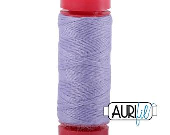 Aurifil LANA WOOL 8515 Dusty Lavender Purple 12 Weight Wt 50 Meters 54 Yards Spool Quilt Wool Quilting Thread