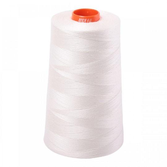 6,452 Yard Cone Aluminum Aurifil 2615 Mako 50 Wt 100/% Cotton Thread