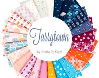 TARRYTOWN 25 Fat Quarter Bundle Turtle Floral Fabric by Kimberly Kight for Ruby Star Society RS3020FQ
