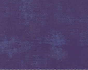 BTHY Moda Grunge BasicGrey Purple Grape Eggplant Mottled Modern Background Quilting Fabric Half Yard 30150-295