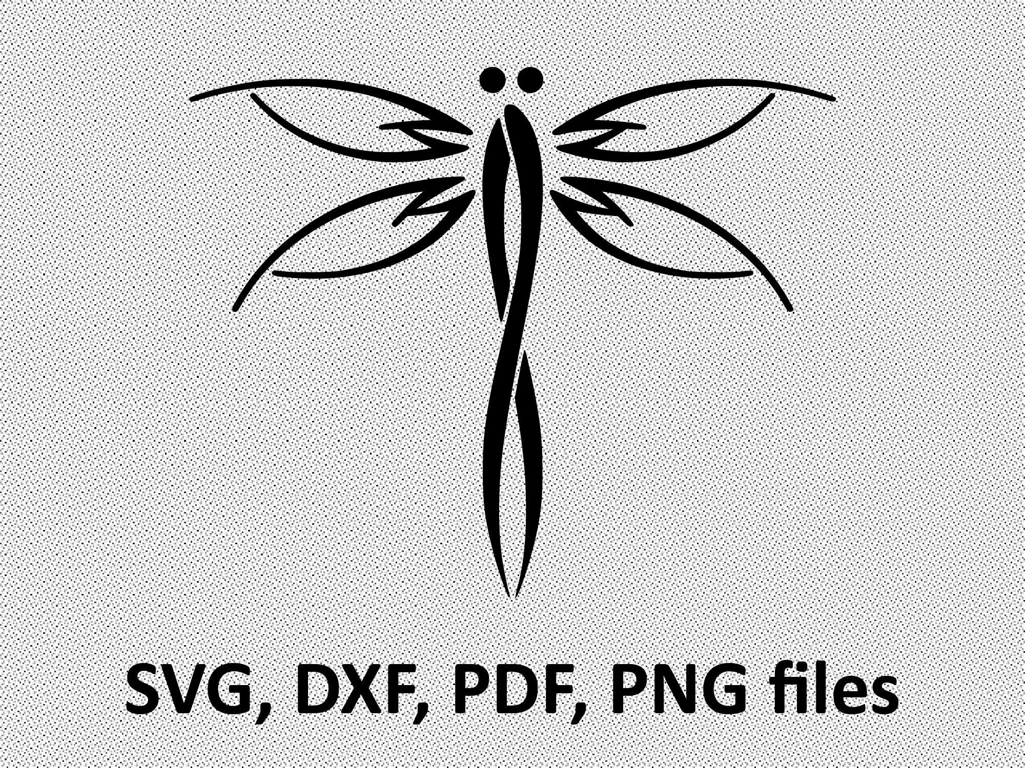 dragonfly svg dragonfly dxf dragonfly clipart dragonfly etsy