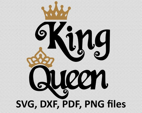 Her King Svg His Queen Svg King And Queen Svg Svg Design: King Queen T Shirts. Royal Family Shirt Design. Family T