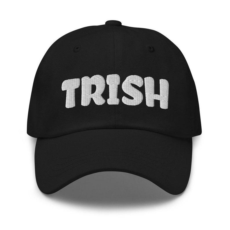 TRISH Dad Hat Womens Hat Mens Hat Unisex Hat Barb and Star image 0