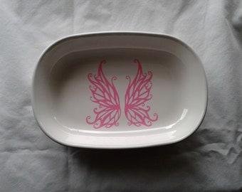fairy wing jewelry dish