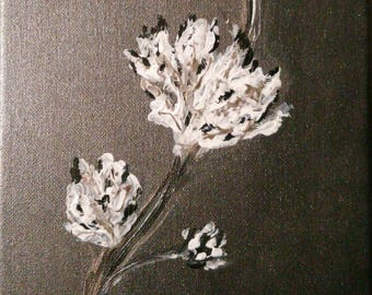 Flowers - Shades of gray