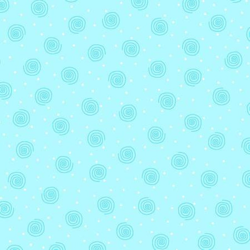 A.E Nathan Blue Swirl Comfy Flannel
