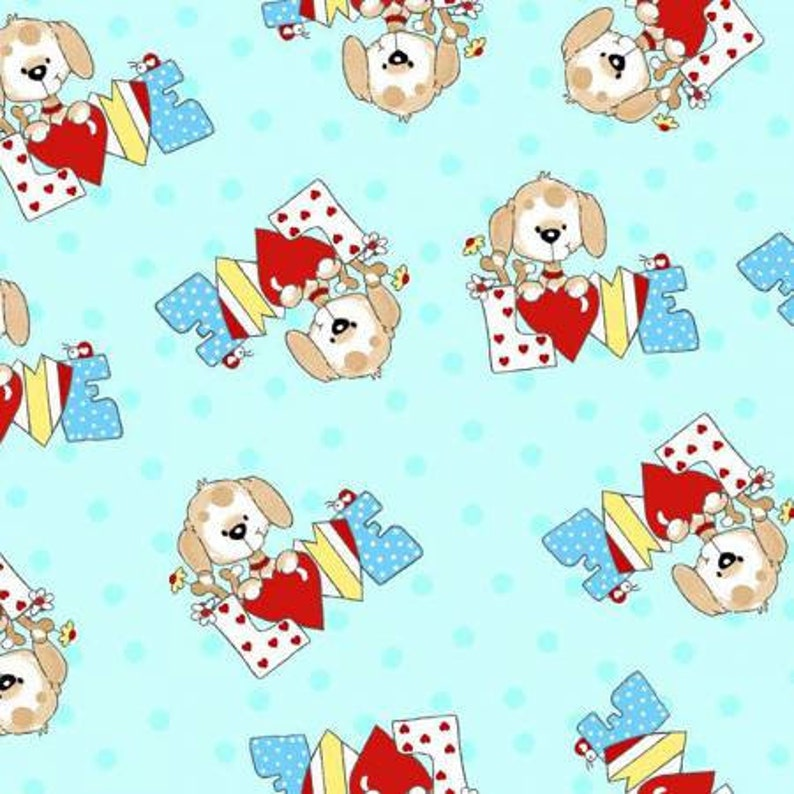 Love Dog Blue Comfy Flannel A.E Nathan