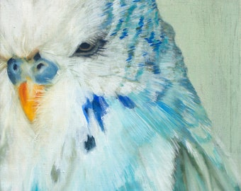 Sam - giclée limited edition from original oil painting by Adrienne Egger