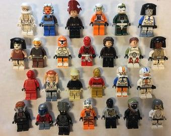 LEGO® Bulk Minifigure Lot of 10 Random Mixed Star Wars Figures Free US Shipping