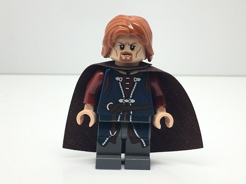 Lego The Hobbit The Lord Of The Rings Boromir Minifigure Etsy