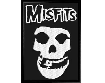 3707148008f1d Misfits embroidered patch