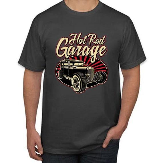 Design De T Shirt T Shirt De Garrage Vintage Hot Rod 29a298 Wdlcyocom