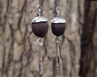 Lotus Seed Earrings