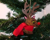 Lot of 3- Rudolph Ornament