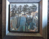 Fused Glass Wall Panel - Trees