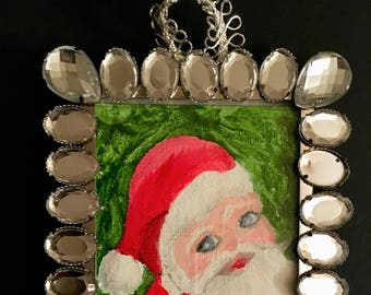 Santa Himself Christmas Ornament
