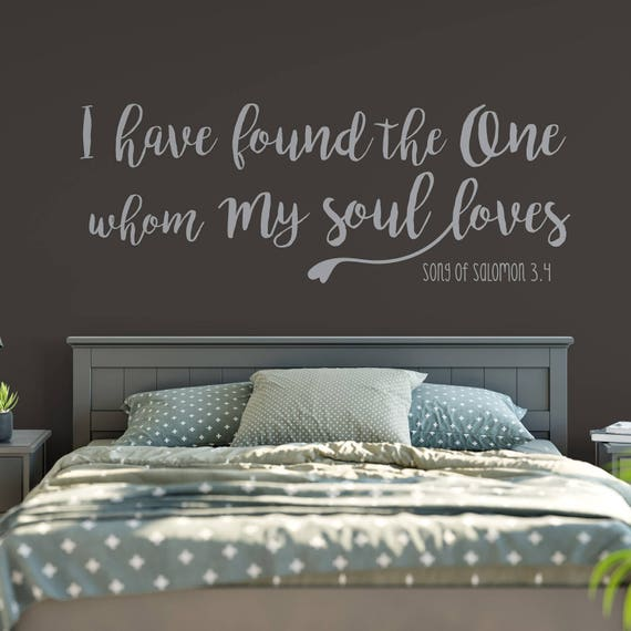 Family Quote Wall Decal Love Quote I Have Found The One Whom Etsy