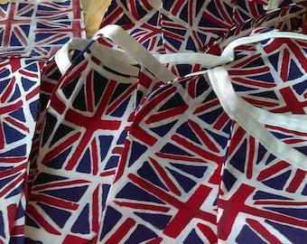 Union Jack flag bunting !!