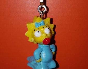 Maggie Simpson Fan/Light Pull.  Homer, Bart, Lisa, Marge.  The Simpson's.