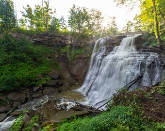 Brandywine Falls / National Park / Cuyahoga Valley National Park / Ohio / Waterfall / Hiking / Home Decor / Nature / Photograph / Nature