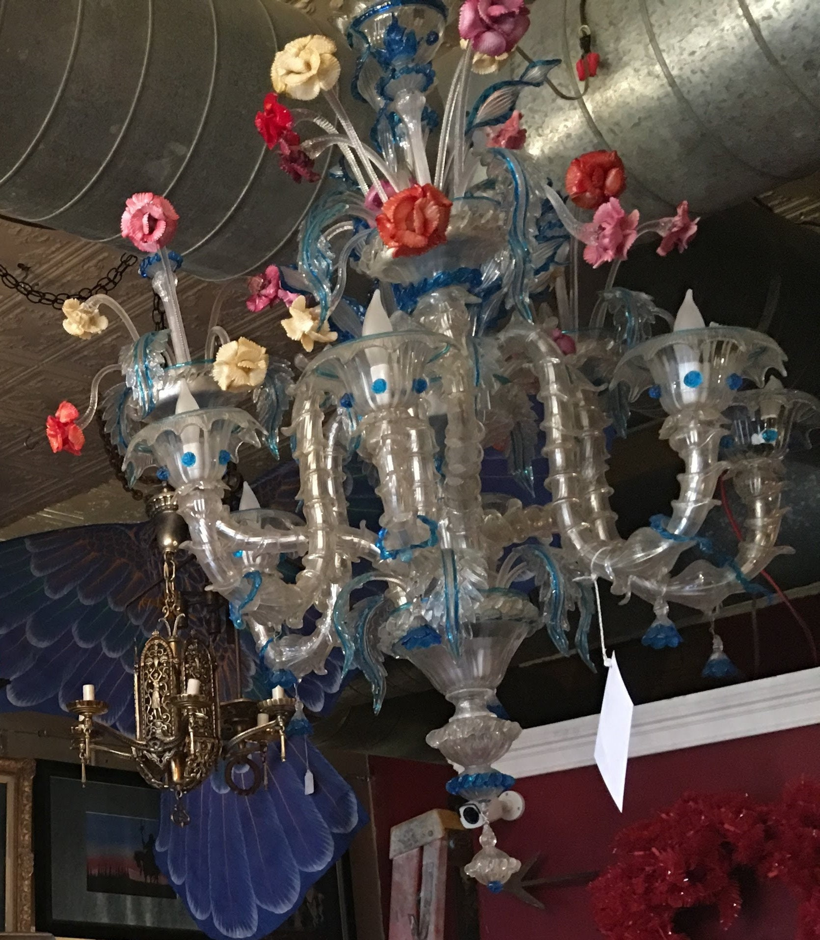 Murano Chandelier Nz: Hand Blown Glass Chandelier From Venice/Murano Italy