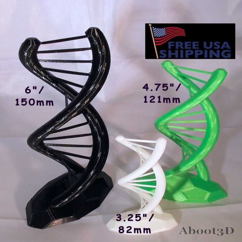 Helix - DNA double Helix makes a great ornament or gift for students in  Science, Chemistry, or Biology, or for a Teacher  Conversation item