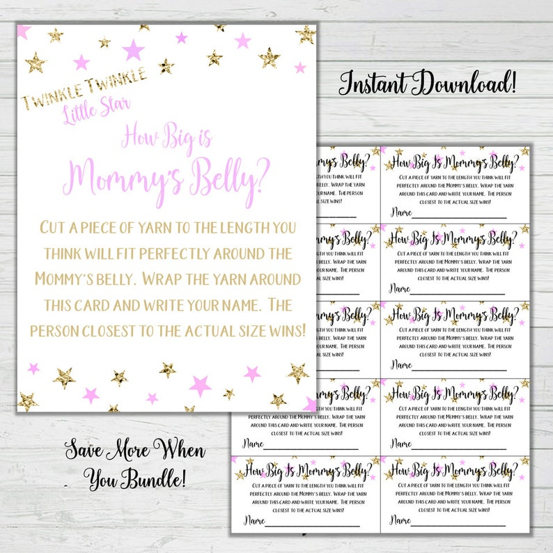 photograph relating to How Big is Mommy's Belly Free Printable called How Huge Is Mommys Abdomen Yarn Match - Red and Gold Kid Shower Game titles -Woman Little one Shower Fast Down load Electronic Printable Reward Match Sparkle