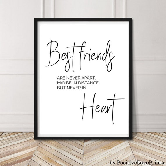 MODE HOME Friendship Wooden Wall Sign,Vintage Wall Art Gift for Friend