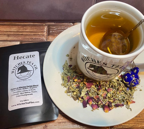 Hecate Loose Leaf Herbal Tea ~ Decaffeinated - Organic Fair Trade - Witches Tea Blend
