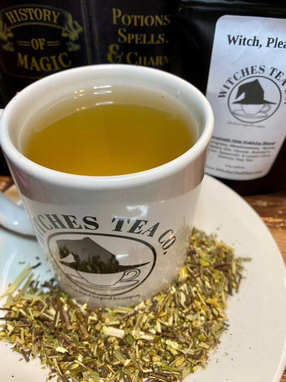 Witch, Please!  Kukicha Twig Tea ~ Low Caffeine - Organic Fair Trade - Herbal Tea - Witches Tea