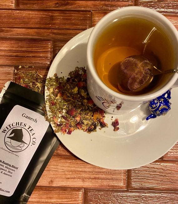 Ganesh's Herbal Loose Leaf Tea ~ Decaffeinated - Organic Fair Trade