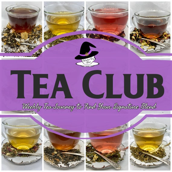 Week-long Witchy Teas Club - 7 Days of Tea - Weeks Worth of Tea - Tea Sampler Organic Fair Trade