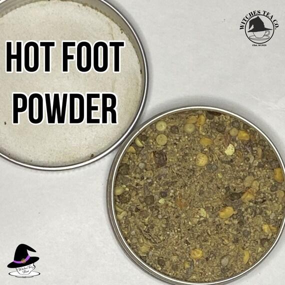 New Orleans Hot Foot Powder~Hexing Powder~Banish~Hoodoo 1oz tin