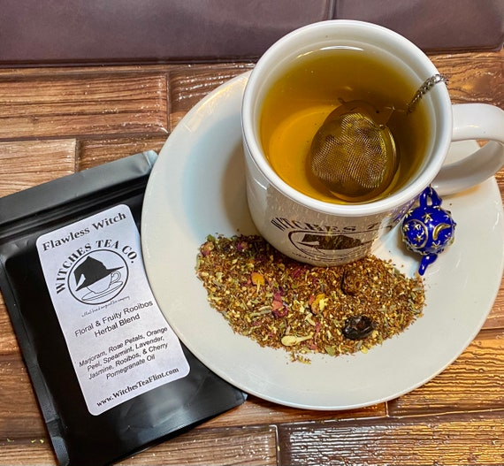 Flawless Witch ~ Aphrodite inspired Rooibos Tea ~ Decaffeinated - Organic Fair Trade -Witches Tea