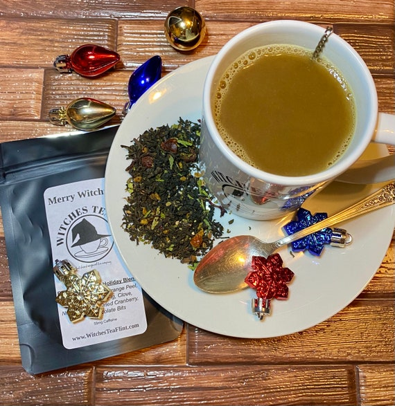 Merry Witchmas Holiday Tea ~ English Breakfast Blend ~ Yule Loose Leaf Tea