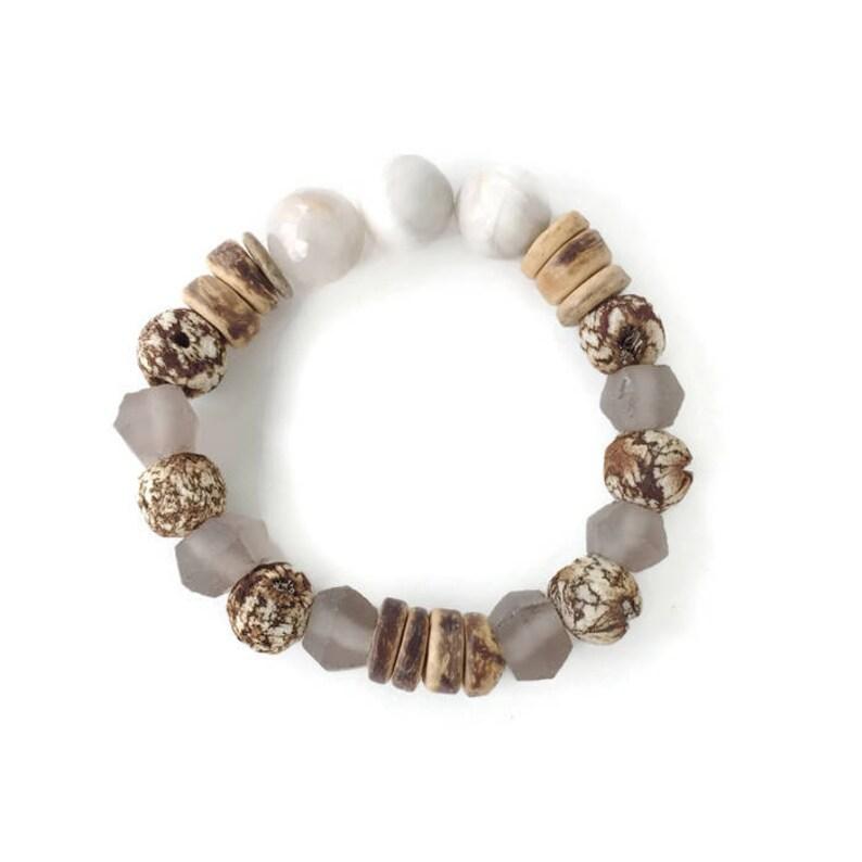 Coconut Mahogany Bracelet image 0