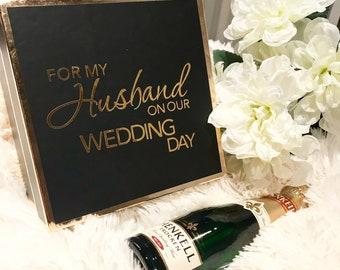 Husband Wedding Day Gift Box (Box only)