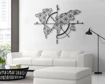 map of life metal world map metal wall decor metal wall art
