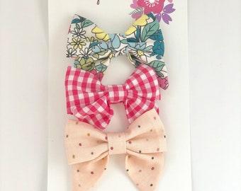 Mini trio Sailor Bows