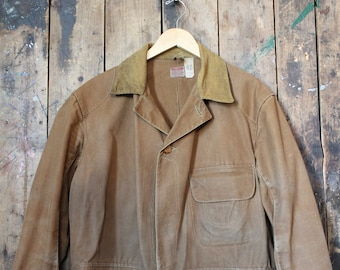 5d738eb6db4cf RARE Early 1920s Vintage Utica DuxBak Jacket | Buttons from early 1900s |  Size 42