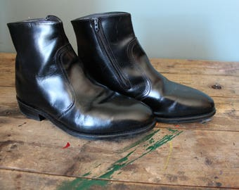 Vintage Leather Boots | Chelsea Boots | Ankle Boots | LeHigh Brand | Size 11 | Safety Shoes