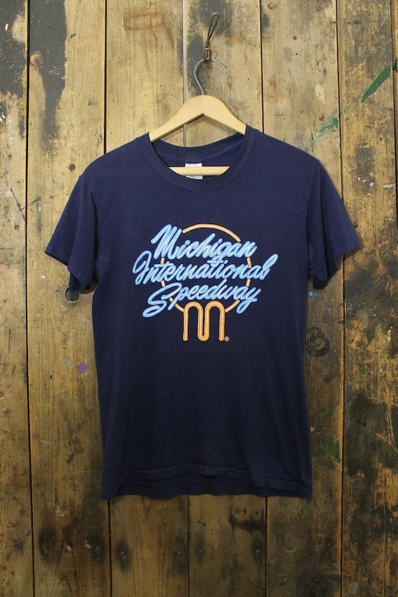 RARE Vintage 70s Soft and Thin Michigan Internatio