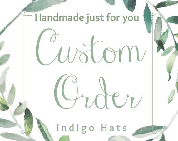 CUSTOM Deposit for Kentucky Derby Hat  |  CUSTOM Deposit for Mother of the Bride Fascinator  |  CUSTOM Deposit Special Event Headpiece  |