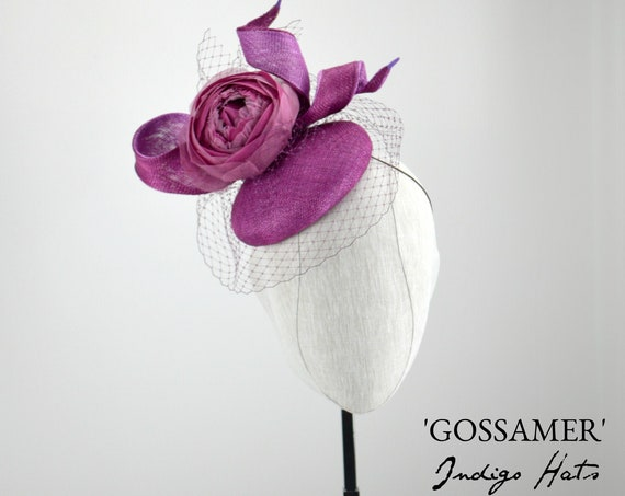 'Gossamer' Cocktail Hat
