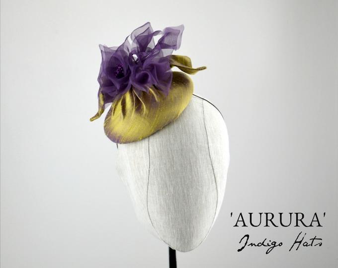 'AURURA' Silk Cocktail Hat