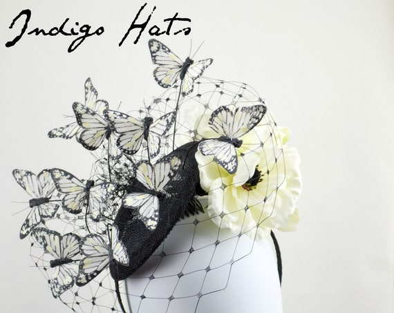 MAGICAL BUTTERFLY Fascinator Hat