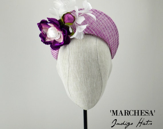 MARCHESA - Headpiece in Orchid